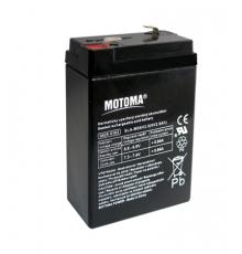Olověná baterie - bezúdržbový akumulátor 6V - 2.8Ah - Motoma - MS6V2.8