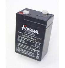 Olověná baterie - bezúdržbový akumulátor 6V - 5.0Ah - Fukawa - FW5-6