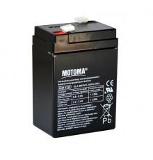 Olověná baterie - bezúdržbový akumulátor 6V - 4.5Ah - Motoma - MS6V4.5