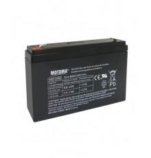 Olověná baterie - bezúdržbový akumulátor 6V - 7.0Ah - Motoma - MS6V7.0