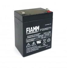 Olověná baterie - bezúdržbový akumulátor 12V - 2.7Ah - Fiamm - FG20271