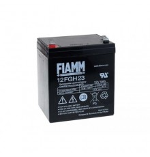 Olověná baterie - bezúdržbový akumulátor 12V - 5.0Ah - Fiamm - 12FGH23