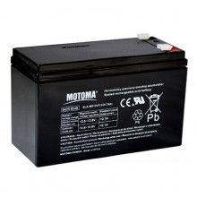 Olověná baterie - bezúdržbový akumulátor 12V - 7.0Ah - Motoma - MS12V7.0 - RBC110