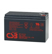 Olověná baterie - bezúdržbový akumulátor 12V - 7.2Ah - CSB - GP1272 | RBC17