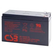 Olověná baterie - bezúdržbový akumulátor 12V - 9.0Ah - CSB - HR1234WF2 | RBC17