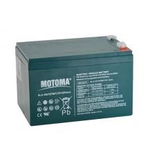 Olověná baterie trakční - pro elektromotory 12V - 12.0Ah - Motoma - 12V12TMF