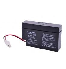 Olověná baterie - bezúdržbový akumulátor 12V - 0.8Ah - Vipow - LP0.8-12