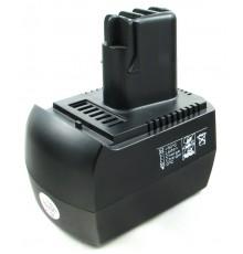 Náhradní nový akumulátor - baterie pro METABO, 12V, 3000mAh, NiMh - BS12, BST12, BSZ12