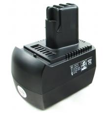 Náhradní nový akumulátor - baterie pro METABO - 12V - 2000mAh - NiMh - BS12 - BST12 - BSZ12