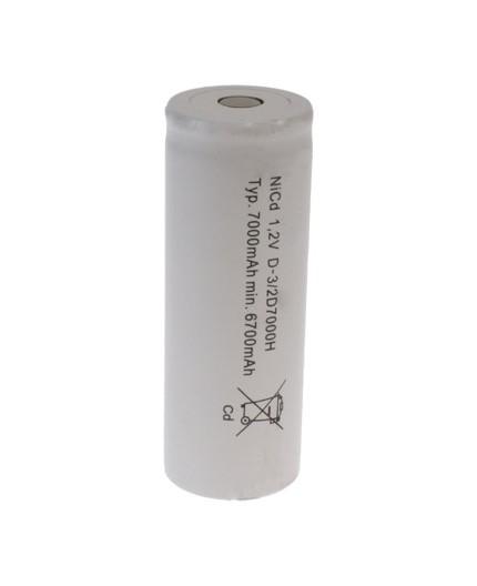 Akumulátor - baterie F - 1.2V/7000mAh - NiCd | NS-7000FH