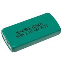 Akumulátor - baterie prismatická, 1.2V/650mAh, NiMh | HF-1CU nahrazuje H35F6S