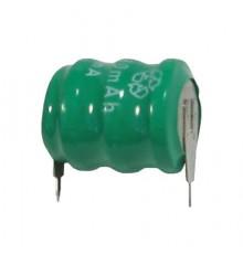 Akumulátor - baterie knoflíková do DPS, 3.6V/80mAh, NiMh, Mempac | MH80B3AL3