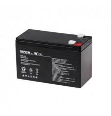 Olověná baterie - bezúdržbový akumulátor 12V - 9.0Ah - Vipow- LP9-12| RBC17