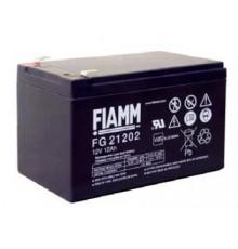 Olověná baterie - bezúdržbový akumulátor 12V - 12.0Ah - Fiamm - FG21202