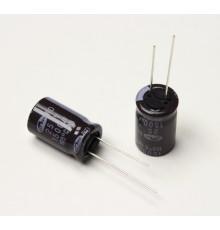 Elektrolytický kondenzátor 1500uF, 25V, 105°C - radiální