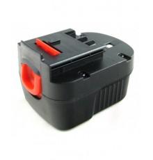 Náhradní nový akumulátor - baterie pro Black & Decker - 12V - 2000mAh - B - NiMh - BD1204L - A12 - A1712