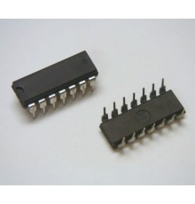 4002 - CMOS-LOGIC-IC, 2*4 vst.hradlo NOR, DIP14