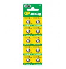 Baterie GP186 - LR43 - AG12 - knoflíková - alkalická - 1ks blistr