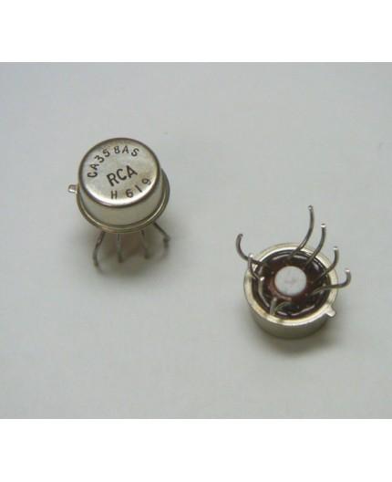 CA358AS - OP-IC, Dual Op.amplifier, ±16V, 1MHz, TO99