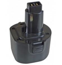 Náhradní nový akumulátor - baterie pro DeWALT - 9.6V - 2000mAh - NiCd - DE9062 - DE9071