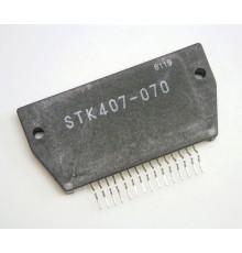 STK407-070 - HYBRID-IC, 2*NF-E, ±40V, >60W (±30V/6R), 0.1%, HYB