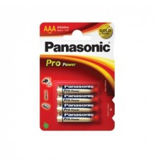 Baterie Panasonic Pro Power AAA - R03 - LR03 - mikrotužková - alkalická - cana za 4ks v blistru