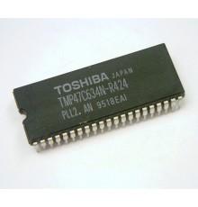 TMP47C634N-R424 - CMOS-µC-IC, TV, Mikroprocesor, 5V, SDIP42