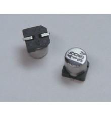 SMD elektrolytický kondenzátor, 10uF, 35V, 4*5.2mm