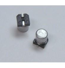 SMD elektrolytický kondenzátor, 2.2uF, 50V, 3*5.2mm