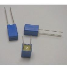 Polyesterový kondenzátor, 270nF, 100V, RM5.0mm