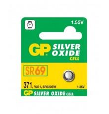 Baterie GP 371 - Low Drain - knoflíková - oxid stříbra - 1ks blistr