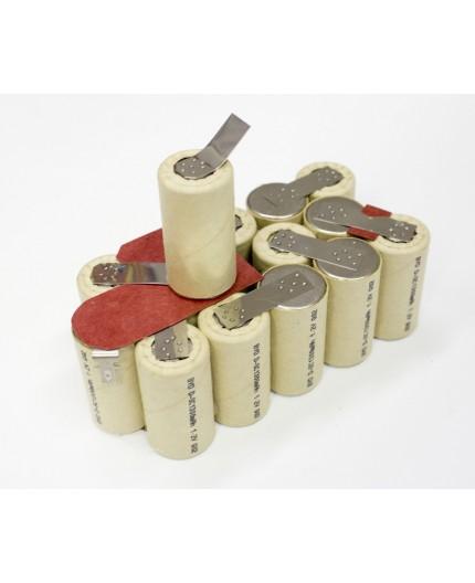 Mac Allister baterie - náhradní akupack, velikost SC, 18V - volitelná kapacita