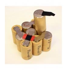 Bosch baterie - náhradní akupack, velikost SC, NiCd, 12V/1500mAh - SC1500SCK