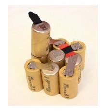Bosch baterie - náhradní akupack, velikost SC, NiCd, 12V - volitelná kapacita