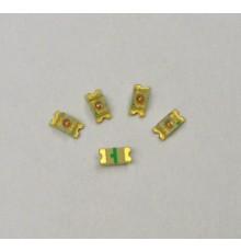 L1206G - SMD 1206 LED, zelená, 100mcd, 45°, 2.3V
