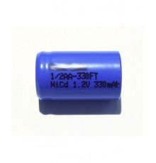 Akumulátor - baterie 1/2 AA - 1.2V/330mAh - NiCd | AP1/2AA-330FT