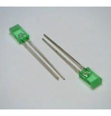 L113GDT - 5*2mm LED, zelená - rozptylná, 8mcd, 110°, 2.2V