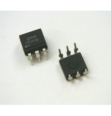 4N35 - 1*Optočlen, LED/TRANZISTOR, Uiz=3.5kV, If=10mA, Uce=30V, 100%