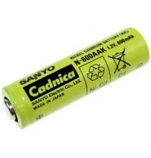 Akumulátor - baterie AA - 1.2V/600mAh - NiCd - HT | N-600AAK