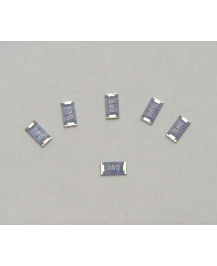 10R/1206 - SMD rezistor, 0.25W, ±5%, 100ppm, 1206