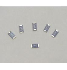 1M0/1206 - SMD rezistor, 0.25W, ±5%, 100ppm, 1206