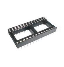 DIL 28 patice pro integrovaný obvod 2 x 14 pinů, 2.54mm, 28 pinů