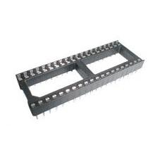 DIL 40 patice pro integrovaný obvod 2 x 20 pinů, 2.54mm, 40 pinů