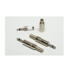 Jack 3.5mm konektor, mono, kovový - niklovaný