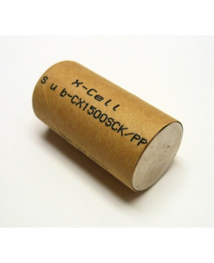 Akumulátor - baterie SC - 1.2V/1500mAh - NiCd | SC1500SCK