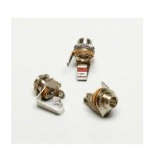 Jack 3.5mm zdířka, mono, panelová, kovová, vyp.