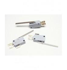 MS203 - mikrospínač s páčkou délky 50mm, HONEYWELL, 240V, 16A, 6.3mm