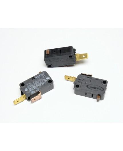 MS205 - mikrospínač bez páčky, spínač, 240V, 16A, 6.3mm