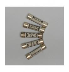 AFM001 -  keramická pojistka 1A zpožděná - 6.3*25.4mm