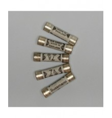 AFM002 -  keramická pojistka 2A zpožděná - 6.3*25.4mm